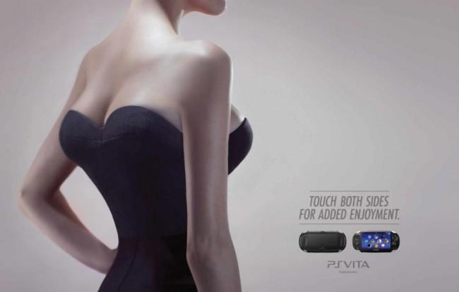 Sony PS Vita Marketing ad