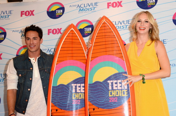 Michael Trevino dating Candice accola