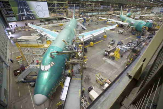 Boeing to Build the Fuselage Panels of the 747 at its Macon, Georgia Facility, Company to Invest about $80 Million