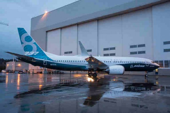 Boeing Debuts First 737 MAX 8, On Schedule for First Flight Test in Early 2016