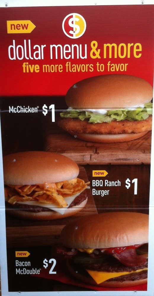 McDonald's Dollar Menu