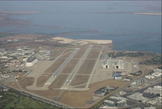 Hangar One at Moffet Federal Airfield