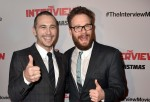 James Franco and Seth Rogen at the premiere of