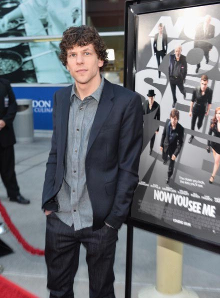 """Jesse Eisenberg at the Screening Of Summit Entertainment's """"Now You See Me"""" - Red Carpet"""