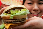 McDonald's burger (Reuters)
