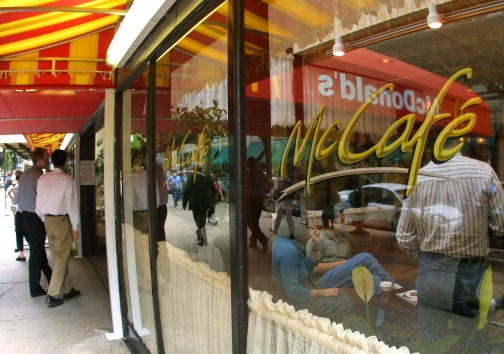 McCafe store front