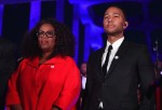 Oprah Winfrey and John Legend