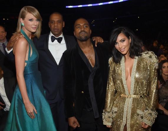 Taylor Swift, Jay-Z, Kanye West, Kim Kardashian