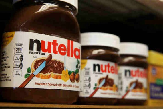 Ferrero's creation the highly addictive Nutella