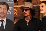 Javier Bardem, Johnny Depp And Orlando Bloom