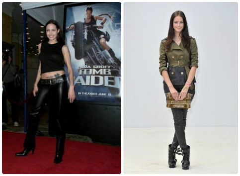 Angelina Jolie and Kaya Scodelario