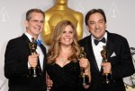 directors Jennifer Lee and Chris Buck and producer Peter Del Vecho