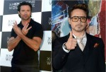Hugh Jackman as Wolverine / Robert Downey Jr. as Iron Man