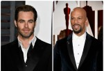 Chris Pine and Common