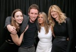 (L-R) Emily Blunt, Eddie Redmayne, Jennifer Aniston and Laura Dern