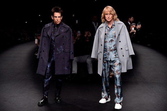 """Zoolander 2"" cast Ben Stiller and Owen Wilson"