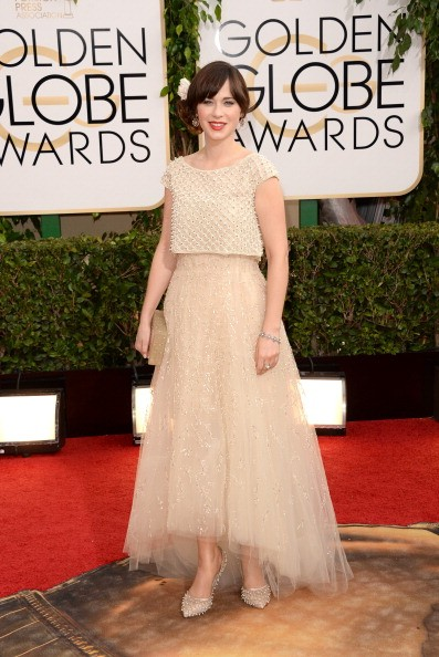 pregnant zooey deschanel can't wait to give birth to her