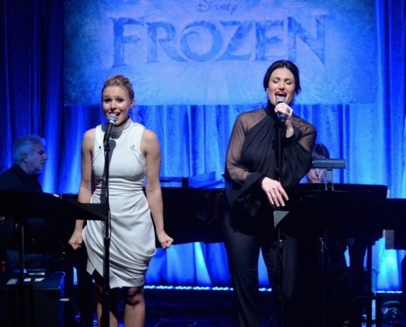 Kristen Bell and Idina Menzel
