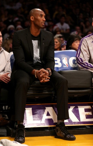 Injury kept Kobe Bryant out of game since January