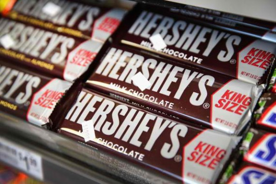 Chocolate maker Hershey Co. will cut 300 jobs as sales weaken in China.