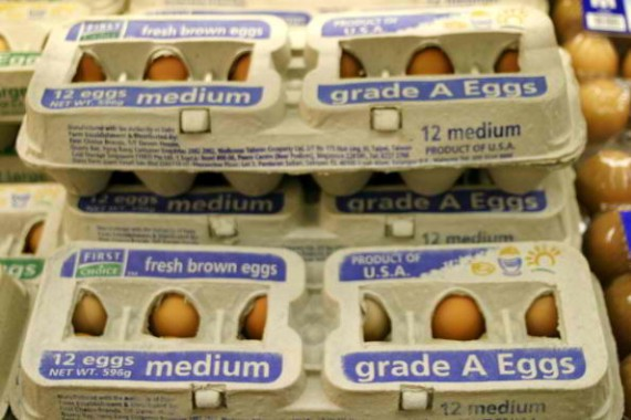 Eggs have grown more expensive in the US as the avian flu epidemic have devastated poultry stocks.