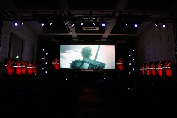 """The """"Final Fantasy 7"""" remake teaser trailer is shown at E3 2015"""