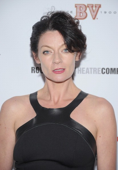 "Michelle Gomez after her performance in Broadway's ""If There Is I Haven't Found It"""