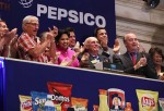 PepsiCo's Indra Nooyi at the New York Stock Exchange