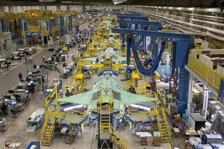 Boeing Production Facility