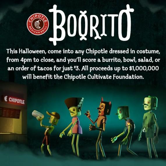 Chipotle 'Boorito' Promotion