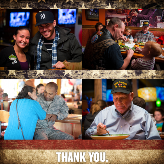 Applebee's Veterans' Day