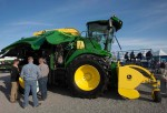TULARE, CA - FEBRUARY 10: A John Deere 8600 tractor is displayed on opening day of the World Ag Expo on February 10, 2015 in Tulare, California