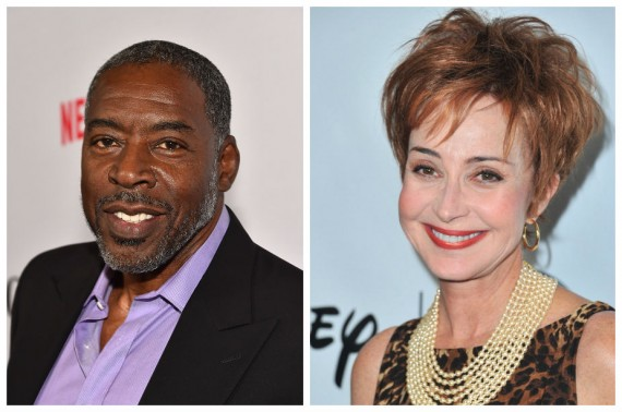 Ernie Hudson and Annie Potts