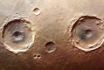 Craters on Mars