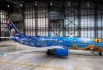 WestJet Boeing 737-800 Frozen
