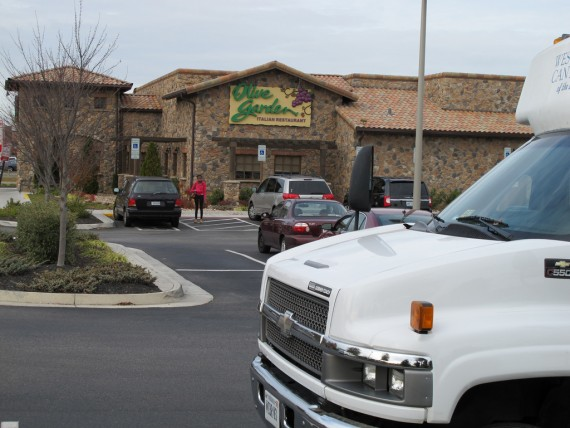 Olive Garden's New Logo and Menu