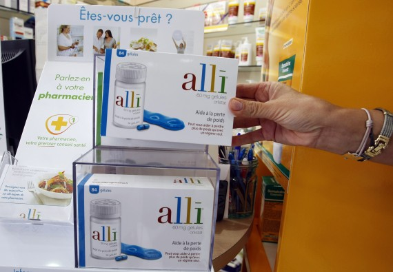 GSK Alli Weight Loss Product