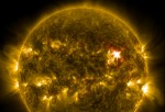 Solar Flare Causes Radio Blackout