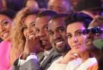 Kim Kardashian Kanye West Beyonce Jay-Z