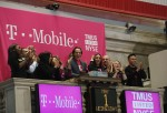 T-Mobile On New York Stock Exchange