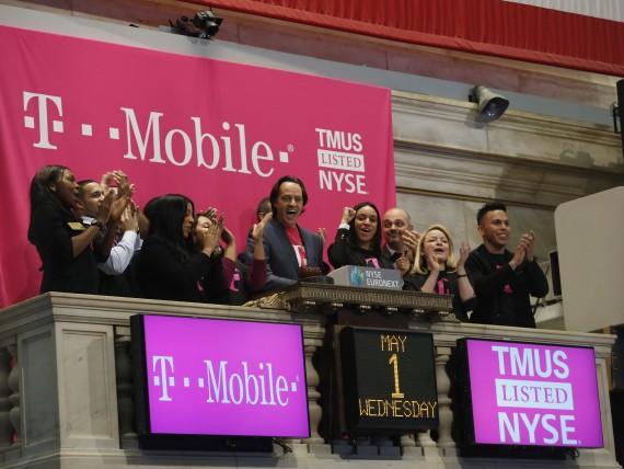T-Mobile On New York Stock Exchange