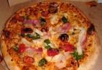 Dominos Specialty Chicken Pizza
