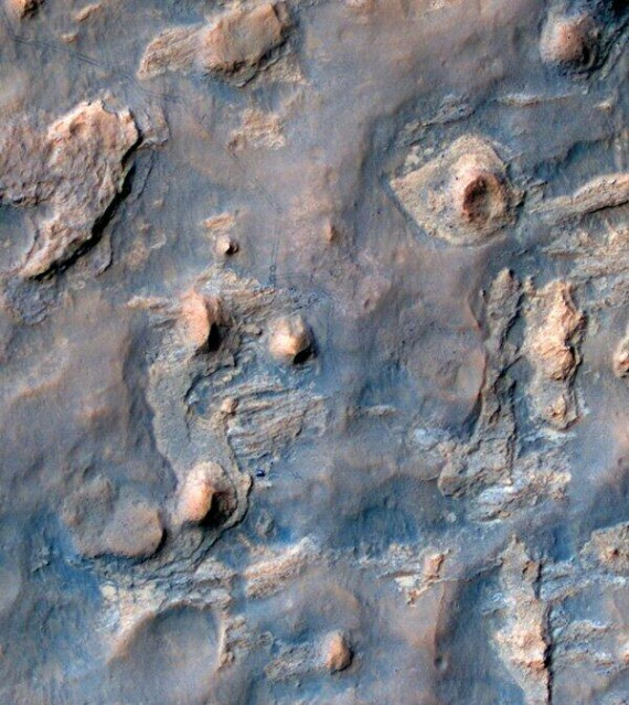 Mars Excavation Site