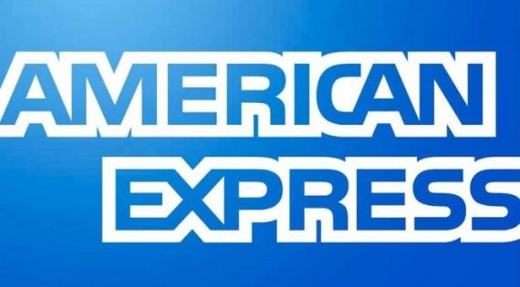 American Express logo.