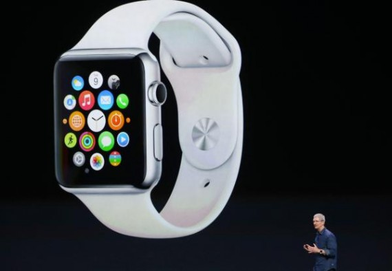Tim Cook unveils Apple Watch