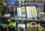 iPhone imitations line up in a store display in a Hong Kong mall Sept. 12, 2014
