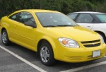 Chevrolet Cobalt, one of the brands of recalled General Motors cars