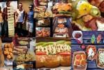 Variety of Dog Haus Food Items