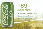 Coca Cola Life, lower calorie version of Coca Cola Soda