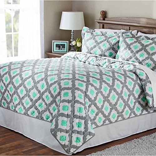 Top 5 Best Selling mainstay quilt king with Best Rating on Amazon (Reviews 2017)